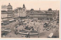 Brussel - Bruxelles - Place Rogier Et Gare Du Nord - Spoorwegen, Stations