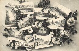 CPA Un Bon Souvenir De CRESPIERES (260565) - Altri Comuni