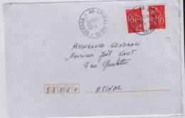 EPINAL CC-T1  (Vosges)  Centre Courrier Type 1  26 7 2005 - Marcophilie (Lettres)
