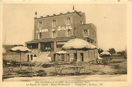- Var -ref-B405- Six Fours Les Plages - Six Fours La Plage - Baie De Sanary - Hotel Restaurant Le Rayon De Soleil - - Six-Fours-les-Plages