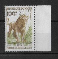 NIGER - ANIMAUX - YVERT 111 * MLH - COTE = 17 EUR - Niger (1960-...)