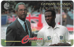 Cayman Isl. - C&W Test Series 1994, 12CCIA, 1995, 20.400ex, Used - Kaaimaneilanden
