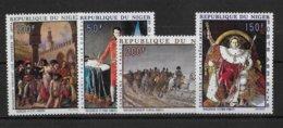 NIGER - NAPOLEON - POSTE AERIENNE YVERT 100/103 ** MNH - COTE = 23.5 EUR - Niger (1960-...)