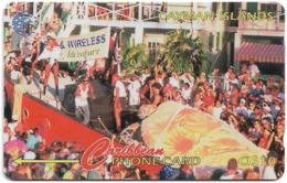 Cayman Isl. - Pirates Week, 13CCID, 1995, 15.000ex, Used - Kaimaninseln (Cayman I.)