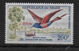 NIGER - OISEAU / BIRD - POSTE AERIENNE YVERT 21 ** MNH - COTE = 10 EUR - Niger (1960-...)