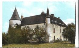 CPSM  Dentelée   Au  PF  De   CHAMPAGNAT  (23)  -  Château  De  Fournoux    //     TBE - France