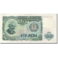 Billet, Bulgarie, 100 Leva, 1951, KM:86a, TTB - Bulgarien