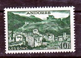 Andorre 151 Les Bons  Neuf * * TB  MNH Sin Charnela Cote 60 - Französisch Andorra