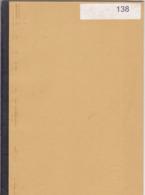 STUDIE VAN DE POSTMERKEN VAN DE TREINPOSTKANTOREN  1840 - 1850 Door VAN DE VEIRE 20 Blz - Strade Ferrate