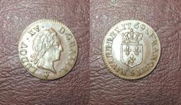 FRANCE - Louis XV - Liard à La Vieille Tête - 1769 S, Reims - 987-1789 Royal