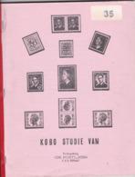 ETUDE KOBO STUDIE ( KONING BAUDOUIN  ) Traduite En Français - Handboeken