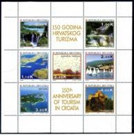 1994 CROAZIA Minifoglio 239/245 MNH ** - Croatia