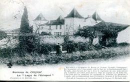 """N°75861 -cpa Environs De Cognac -le """"logis De L'éclopart"""" - Cognac"""