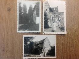 Grimbergen 3 Petites Photos 1938 - Cartes Postales