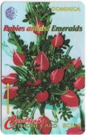Dominica - Rubies Flowershow - 138CDMB - 1997, 20.000ex, Used - Dominica