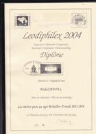 BELGIQUE COLLECTION MICHEL JADOUL  LEODIPHILEX 2004  128 Pages - Filatelie En Postgeschiedenis