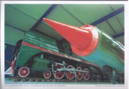AK-div.30- 352 -   Foto Siegfried Layda   - Im Eisenbahn Und Technik Museum In Prora - Künstlerkarten