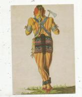 Cp,  Indiens De L'Amérique Du Nord ,guerrier MOHAWK ,école Anglaise XVIII E ,musée Du Nouveau Monde , 17 ,LA ROCHELLE - Native Americans