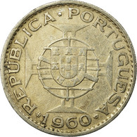 Monnaie, Mozambique, 20 Escudos, 1960, TTB, Argent, KM:80 - Mozambique