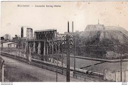 WUERSELEN WURSELEN DEUTSCHE SOLVAY WERKE 1919 TBE - Wuerselen