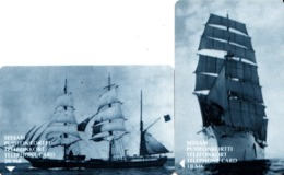 2 TC Telecard Finland Suomi - Seesam Finnet - Voiliers Bateaux Boats Sailing Ships - Finland