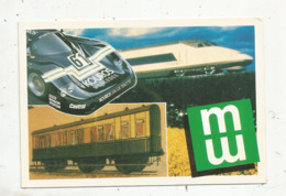 Cp, Sport Automobile , Mutuelles Du Mans Vous Offrent Cette Cp à L'occasion Des 24 HEURES DU MANS 1987 - Le Mans