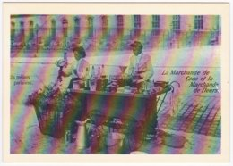 PARIS - Petits Métiers Parisiens En 1900 - La Marchande De Coco Et La Marchande De Fleurs (Reproduction) - Petits Métiers à Paris