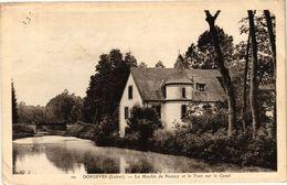 CPA DORDIVES-Le MOULIN De Nacay Et Le Pont Sur Le Canal (264926) - Dordives