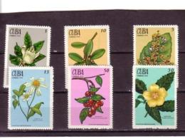 CUBA 1970  PLANTES MEDICINALES  Yvert: 1377/82  NEUF MNH** - Medicinal Plants
