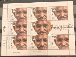 Bosnia And Hercegovina, 2019, 150 Years Since The Birth Of Mahatma Gandhi, Sheet (MNH) - Bosnia And Herzegovina