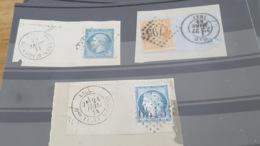 LOT 472921 TIMBRE DE FRANCE OBLITERE - 1853-1860 Napoleon III