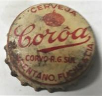 Brazil Bottle Caps Beer, Chapa De Botella De Cerveza - CORÔA - Capsules
