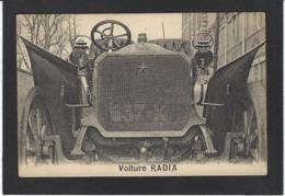 CPA Publicité Voiture Automobile Publicitaire Réclame Non Circulé RADIA - Publicité