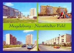 Xx01xx ★ Magdeburg, Neustädter Feld - Mehrbildkarte - Magdeburg