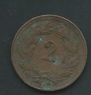 Switzerland , Suisse 2 Rappen 1900  Pia21405 - Schweiz