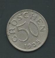 Austria 50 Groschen 1935   Pia21408 - Oesterreich