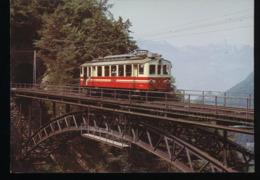Chemin De Fer Aigle - Sepey - Diablerets  --  ( ASD ) -- Automotrice ABDe 4/4 2 - Trains