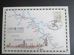 2350 HK Europese Postverbindingen - Kwot. € 12.50 - Covers & Documents
