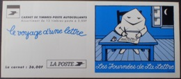 DF40266/632 - 1997 - LES JOURNEES DE LA LETTRE - CARNET Non Plié De 12 TP Autocollants N°BC9 TIMBRES NEUFS** - Carnets