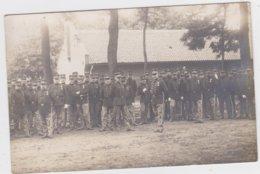 FOTOKAART Leopoldsburg-Beverlo 1912 - Militares