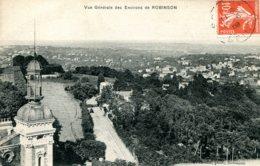 CPA -  ROBINSON (ENV.) - VUE GENERALE - Otros Municipios