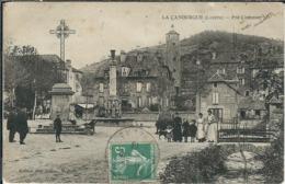 Lozère : La Canourgue, Le Pré Commun, Animée - France