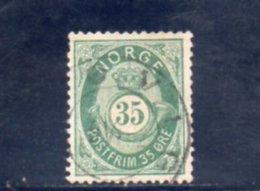 NORVEGE 1877-8 O - Norvège