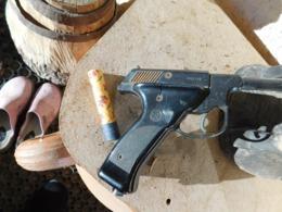 Pistolet Plaisman - Decotatieve Wapens