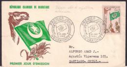 Mauritania - 1960 - Lettre - Proclamation D'indépendance Le 28 Novembre 1960 - Mauritania (1960-...)
