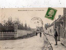 SAINT-FARGEAU-PONTHIERRY MOULIGNON LA GRANDE RUE - Saint Fargeau Ponthierry