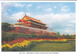 CHINE---BEIJING--historical Sites And Scenic Spots Beijing--voir 2 Scans - Chine