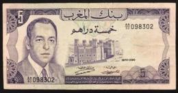 Marocco Morocco 100 Dirhams 1987 2002 + 5 1970 LOTTO 2909 - Marokko