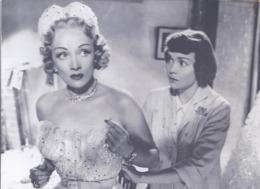 AK-div.30- 380 - Filmszenekarte  - Stage Fright ( Die Rote Lola) England 1950 - Acteurs