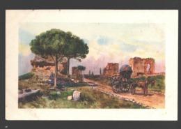 Roma - Via Appia Antica - Illustrazione - Autres